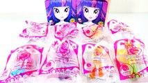My Little Pony Equestria Girls McDonalds Toys - Pinkie Pie Twilight Applejack Fluttershy