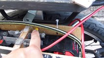 DIY: Home Made Electric bike battery box with cordless tool Dewalt/Milwaukee battery