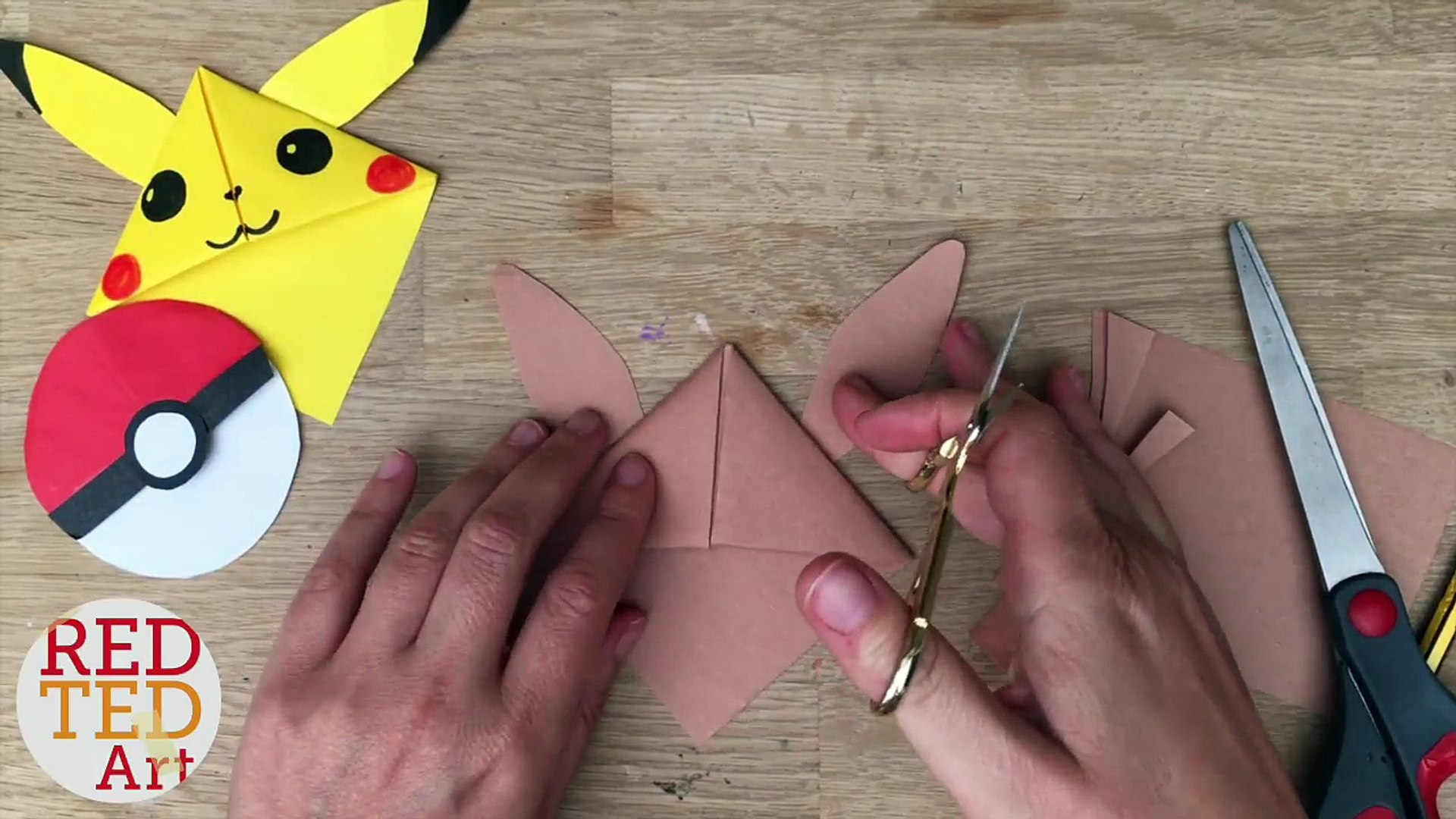 DIY Pikachu Bookmark Corner | Pokemon Go | Easy back to school ... | 1080x1920