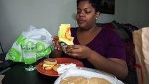 McDonalds Breakfast MUKBANG (Pancakes, Egg McMuffin, McGriddle) + New Years Resolution Talk