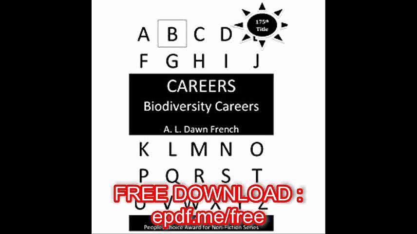Careers Biodiversity Careers (Volume 175)