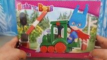 MASHA E ORSO, italiano, Super Masha e il trenino verde, giochi per bambini; Masha Super Eroe!