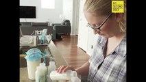 Ngỡ ngàng với hoàn cảnh éo le của bà mẹ mỗi ngày phải hút ra 6 lít sữa