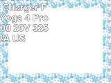 CNK Original 65W Power Adapter Charger For Lenovo Yoga 4 Pro Yoga 900700 20V 325A 5V 2A