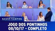 Programa Silvio Santos - Jogo dos Pontinhos - 08.10.17 - Completo