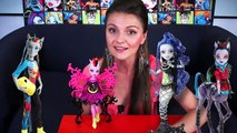 Bonita Femur Freaky Fusion (бонита Фемур Монстрические Мутации) Monster High Обзор BJR41