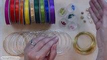 How To Make Jewelry: How To Make Boho Chic Bangle Bracelets