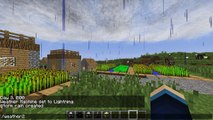 Minecraft Mods   WEATHER MOD!   (Hail Storm, Tornado, Hurricane)   Mod Showcase