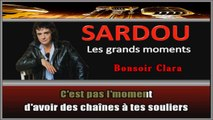 Michel Sardou - Bonsoir Clara KARAOKE / INSTRUMENTAL