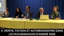 II. Vérité, fiction et autobiographie dans Les Faux-Monnayeurs d'André GIDE, Christine JAOUEN et Jean-Pierre LANGEVIN
