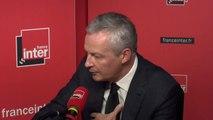 """Bruno Le Maire : """"Je suis prêt, d'ici deux ans, à faire une évaluation de nos choix fiscaux"""""""