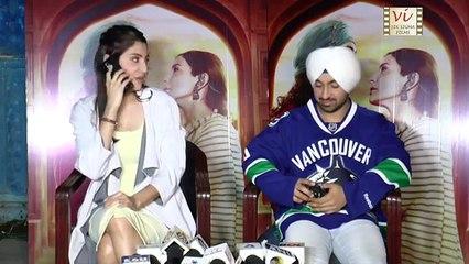 Anushka Sharma PRANKS With A Reporter & Shocks Diljit Dosanjh   Six Sigma Films