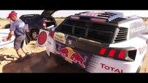 VÍDEO: Carlos Sainz, a fuego con el Peugeot 3008 DKR del Dakar 2018