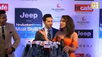 Parineeti Chopra Shocks Varun Dhawan By Kissing Him In Public   Six Sigma Films