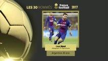 Foot - Ballon d'Or : Avec Lionel Messi, Edinson Cavani et Karim Benzema