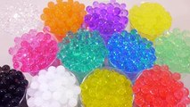 Combine Colors Slime Case DIY Learn Colors Slime Glitter Clay Orbeez