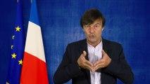 Nicolas Hulot : le projet de loi hydrocarbures reflète l'ambition de la France