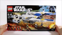 LEGO STAR WARS ROGUE ONE REBEL U-WING FIGHTER 75155 SET REVIEW