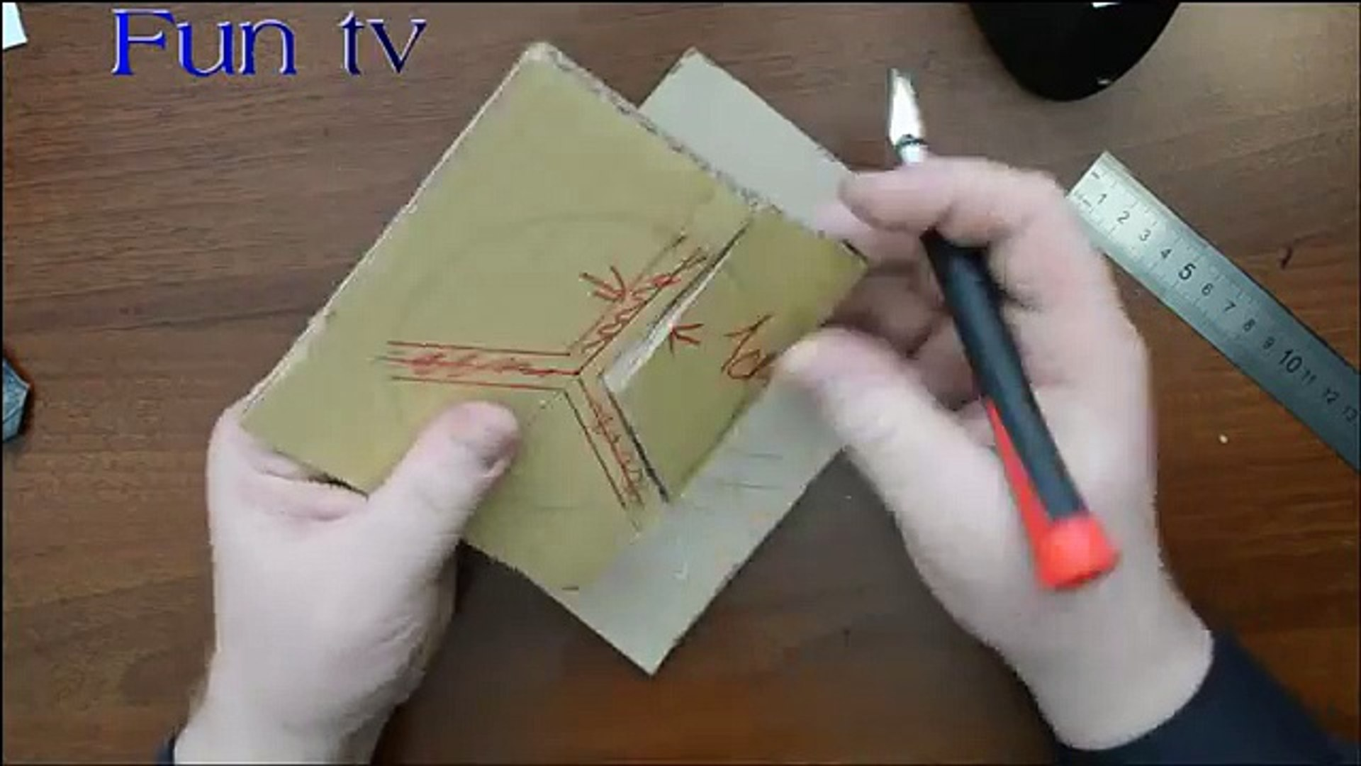 Easy Steps to Make a Paper Knife | 1080x1920