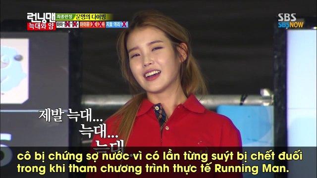 IU tiết lộ từng suýt chết đuối khi tham gia hình phạt tại Running Man