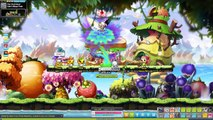 Maplestory Reboot Dawn Warrior Level 19x Training Post 5th