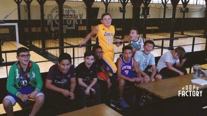 Birthday Basket, les anniversaires pour enfant 100% basket à la Hoops Factory