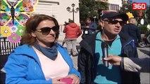 Atmosfera para ndeshjes Shqiperi-Itali ne Shkoder (360video)
