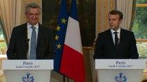 Déclaration conjointe avec le Haut commissaire des Nations Unies Filippo Grandi