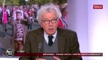 « Le pays est très secoué des 5 ans calamiteux qui viennent de se passer » critique Jérôme Bignon