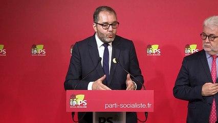 Conférence de presse - Rachid Temal et Jean-Jacques THOMAS