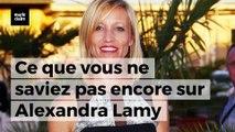Ce que vous ne saviez (peut-être) pas encore sur Alexandra Lamy