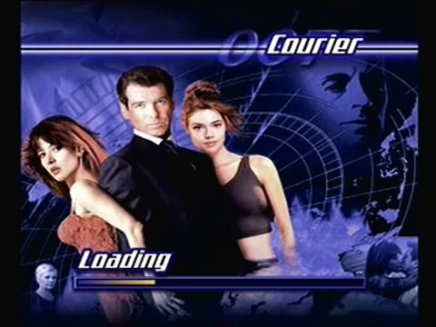 The World Is Not Enough 007 PS1-screem load game