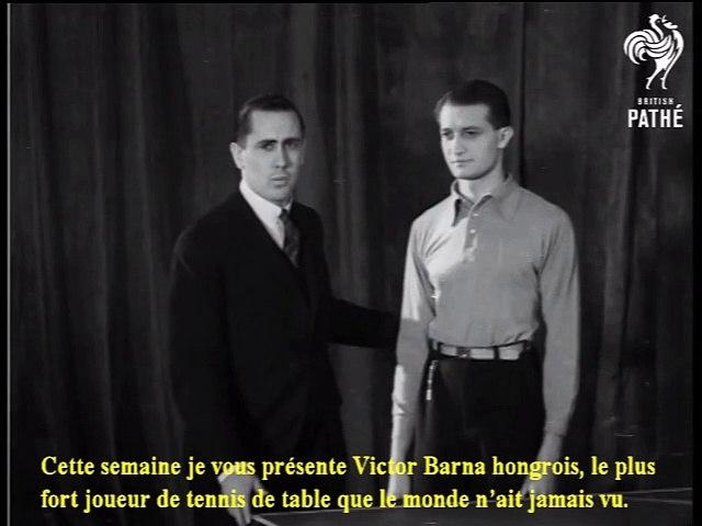 1933 Sportshots No 4 - Victor Barna V R. D. Jones CG