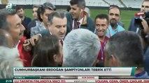 Erdoğan canlı yayında 'Beşiktaş mı yaptı o stadı ya' diye fırçaladı, Bakan mikrofonu kapadı
