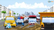Jeu d'assemblage - Le Tracteur Vert et Pelleteuse - Voitures de construction - Voitures Pour Enfants