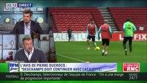 L'Avis de Pierre Ducrocq sur la possible titularisation de Giroud