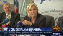 L'oeil de Salhia Brakhlia avec Marine Le Pen dans le vaucluse : L'ombre de Marion Maréchal-Le pen...
