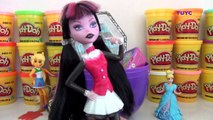 Giant Monster High Egg Surprise with Draculaura and Frankie Stein with My Little