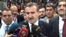 Spor Bakanı, Dursun Özbek ve Fikret Orman'dan Maç Sonu Açıklamalar
