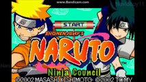 Every Single Naruto Game on all of Nintendos Handhelds (3DS, NDS, GBA)