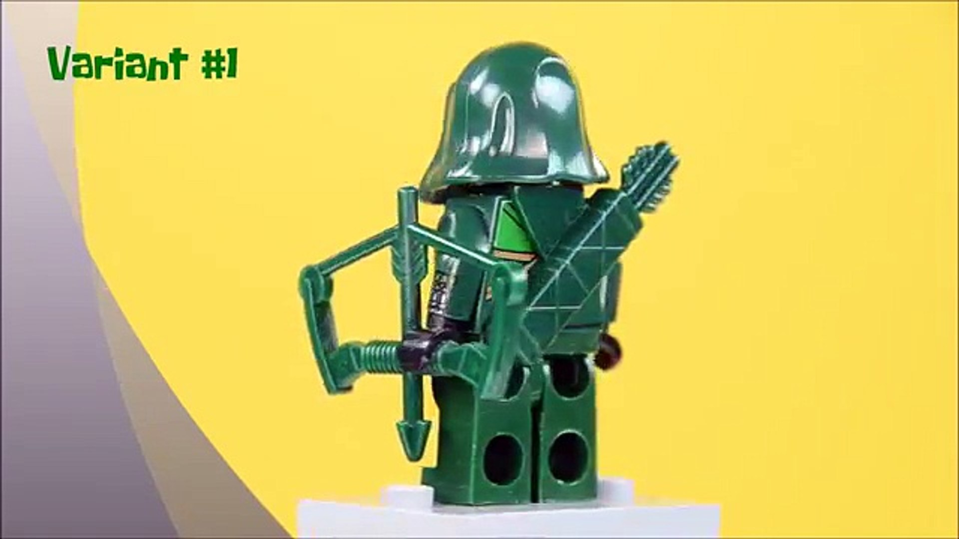 Minifigure Rare  Lego MOC Deathstroke Collection Character DC Comics Universe