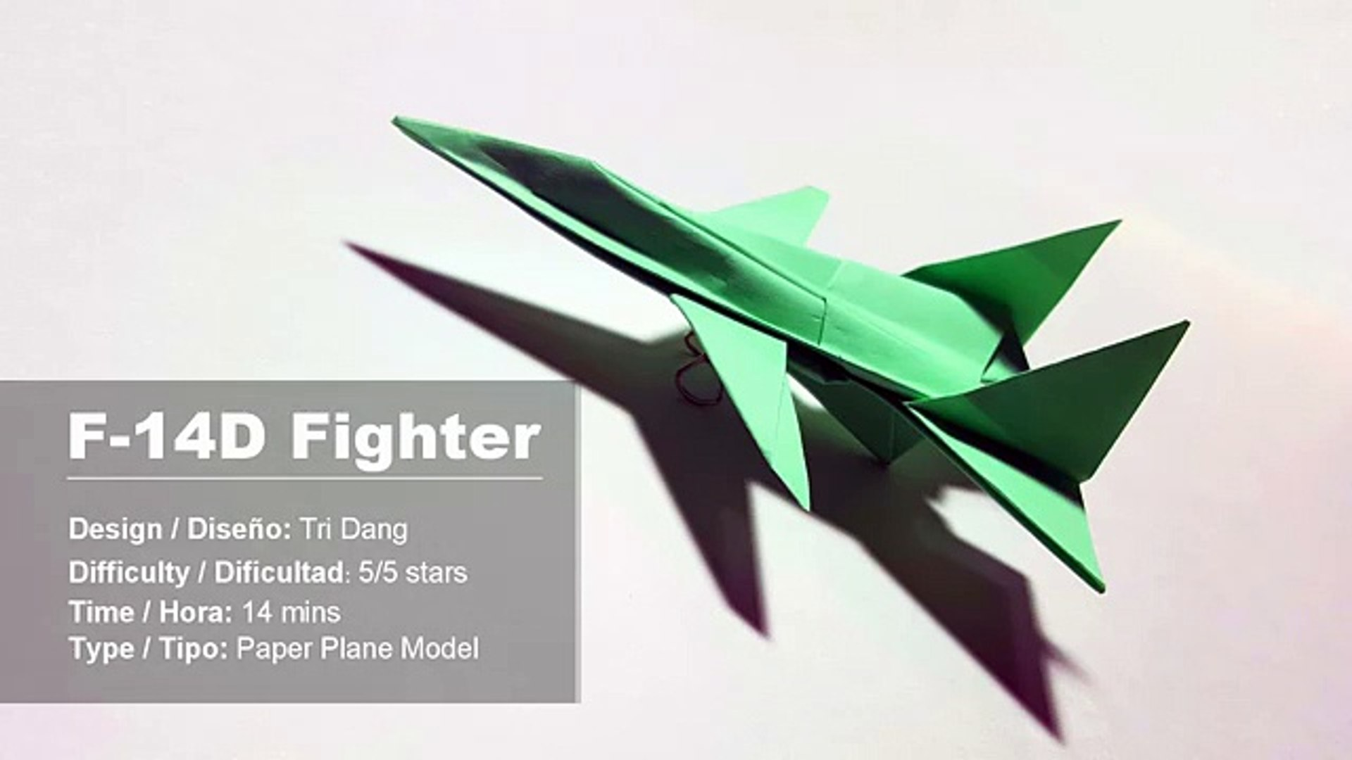 How To Make Paper Airplane - Best Paper Plane Origami Jet Fighter ... | 1080x1920
