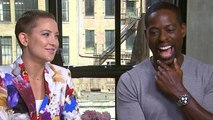 Kate Hudson, Sterling K. Brown Compare Dance Moves on 'Marshall' Set (Exclusive)