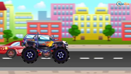The Tow Truck - Video for kids - Cars & Trucks Cartoons for children