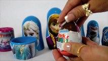 Disney FROZEN Nesting Dolls - Surprise Toys -Matryoshka Dolls Stacking Cups