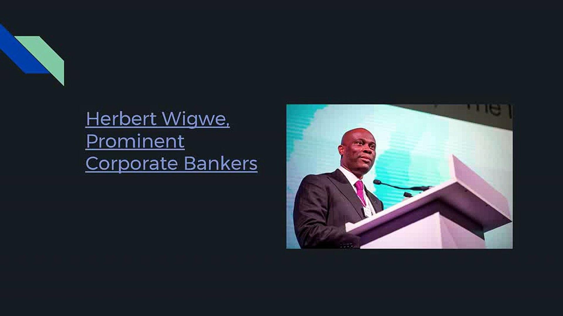 Herbert Wigwe: Financial Services