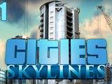 Jeux vidéos clermont-ferrand - CITIES SKYLINE Nouveauté 2017 ( Episode 1 - ville en construction )
