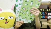 【韓国】買ってきたノートが可愛すぎた。