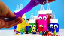 Slime Goo Elsa Frozen Minecraft Spongebob Cartoon Surprise Eggs Toys StrawberryJ
