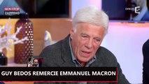 Emmanuel Macron : Guy Bedos le remercie d'avoir battu Marine Le Pen (Vidéo)